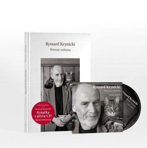 okładka Wiersze wybrane + CD, Książka | Krynicki Ryszard
