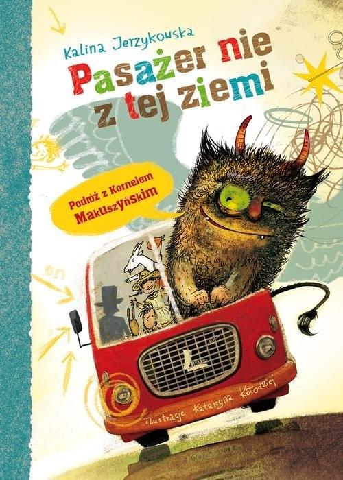 okładka Pasażer nie z tej ziemi, Książka | Jerzykowska Kalina