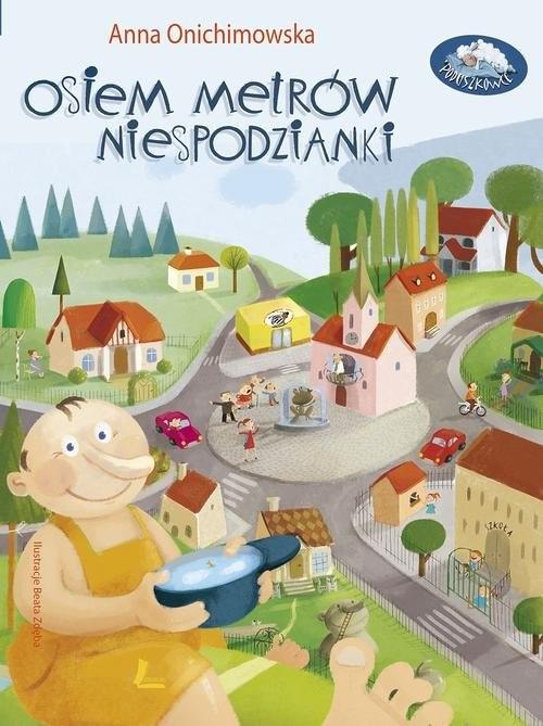 okładka Osiem metrów niespodzianki, Książka | Onichimowska Anna