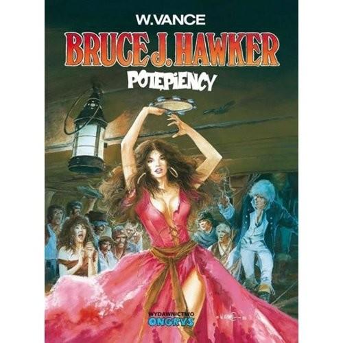 okładka Bruce J. Hawker 2 Potępieńcy, Książka | Vance