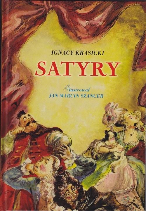 okładka Satyry, Książka | Ignacy Krasicki
