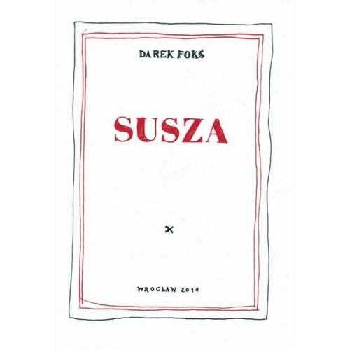 okładka Susza, Książka   Foks Darek