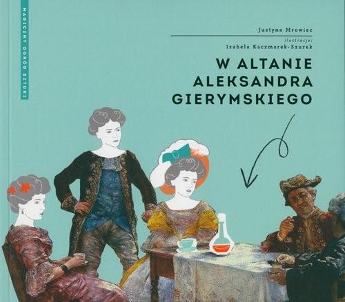 okładka W altanie Gierymskiego, Książka | Mrowiec Justyna