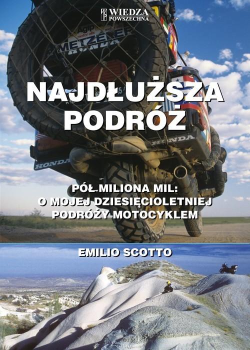 okładka Najdłuższa podróż, Książka | Scotto Emilio