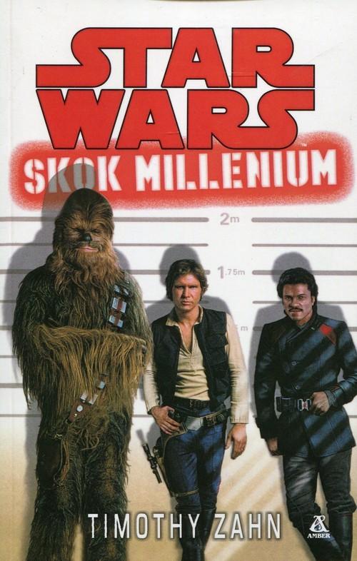 okładka Star Wars Skok millenium, Książka   Zahn Timothy