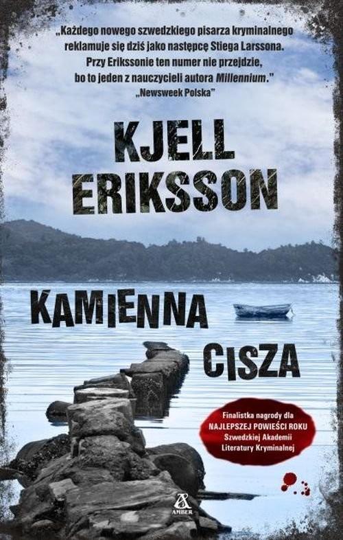 okładka Kamienna cisza, Książka | Eriksson Kjell