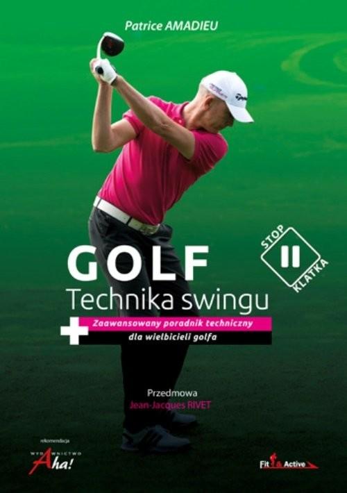 okładka Golf Technika swingu, Książka | Amadieu Patrice