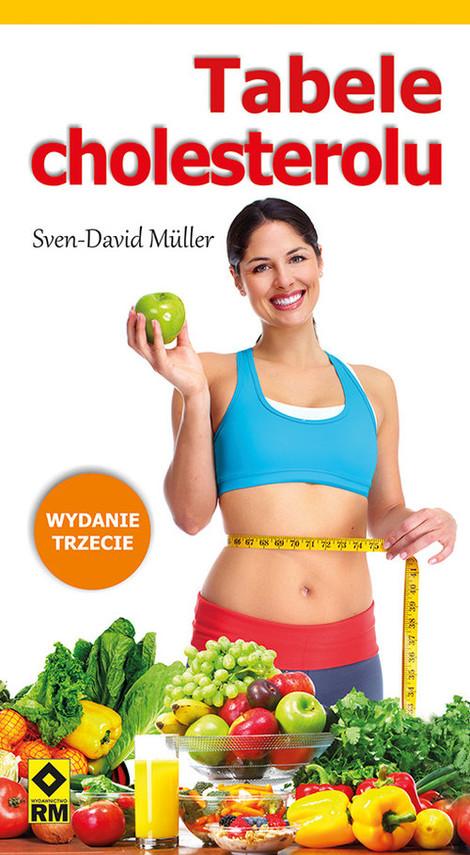 okładka Tabele cholesterolu, Książka | Muller Sven-David