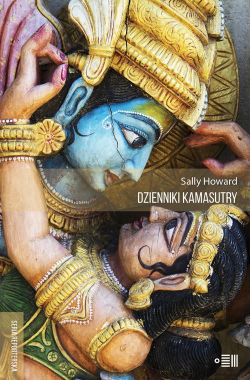 okładka Dzienniki Kamasutry Podróże intymne po współczesnych Indiach, Książka | Howard Sally