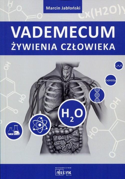okładka Vademecum żywienia człowieka, Książka | Jabłoński Marcin