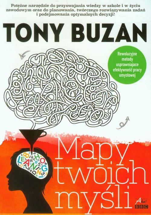 okładka Mapy twoich myśli, Książka | Buzan Tony