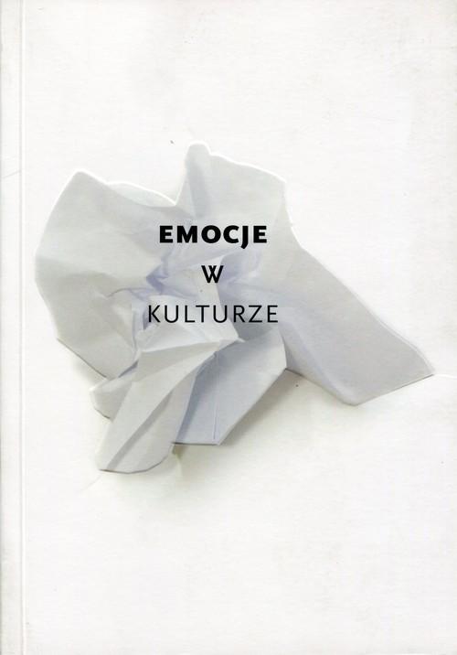 okładka Emocje w kulturze, Książka |