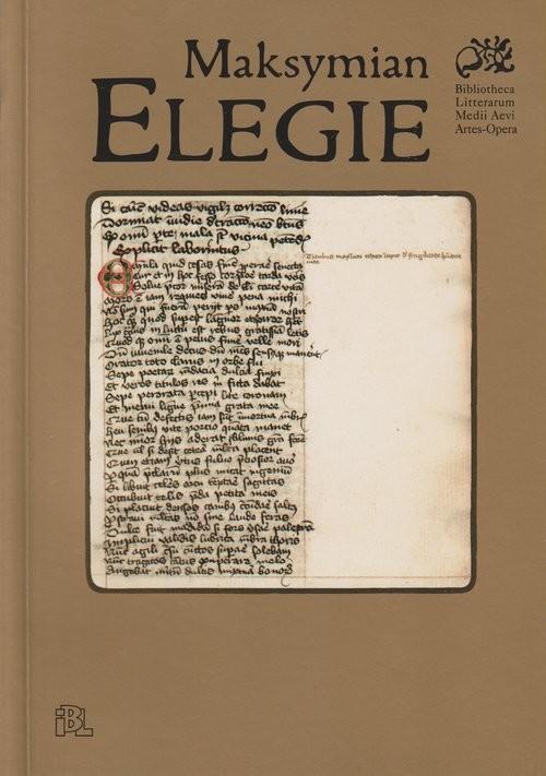 okładka Elegie, Książka | Maksymian