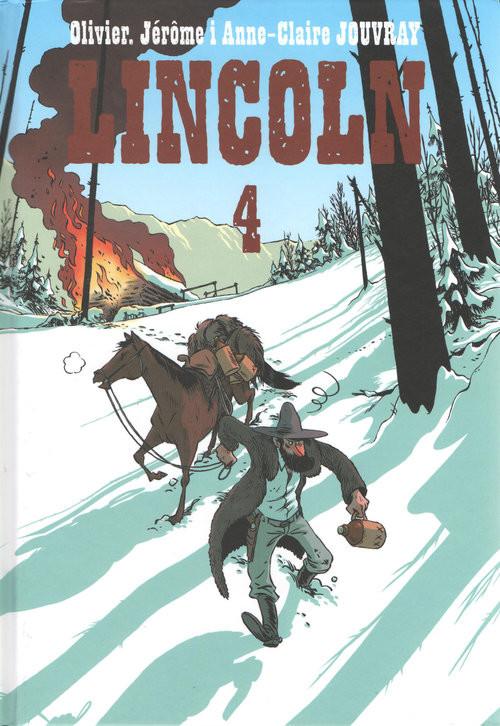 okładka Lincoln 4, Książka | Olivier Jouvray, Jerome Jouvray, Anne Jouvray