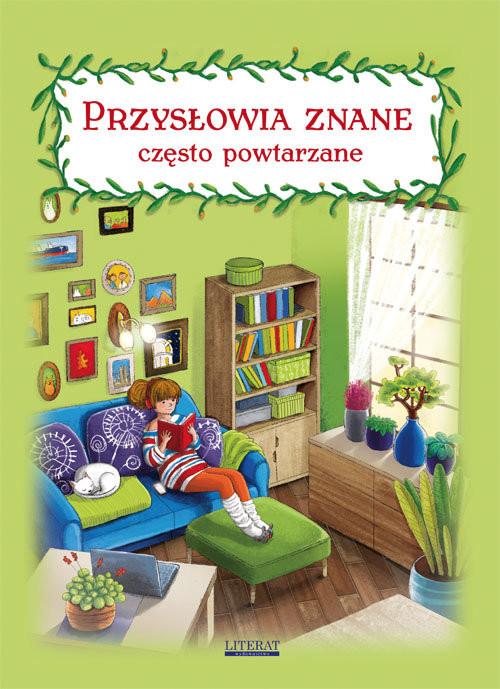 okładka Przysłowia znane często powtarzane, Książka   Pietruszewska Maria