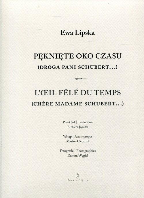 okładka Pęknięte oko czasu, Książka | Ewa Lipska