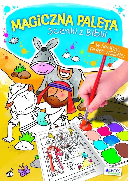 okładka Magiczna paleta Scenki z Biblii, Książka | Juliet David