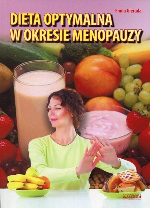okładka Dieta optymalna w okresie menopauzy, Książka | Gierada Emila