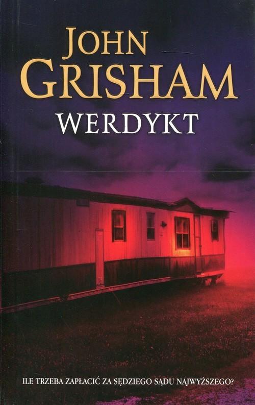 okładka Werdykt, Książka | Grisham John