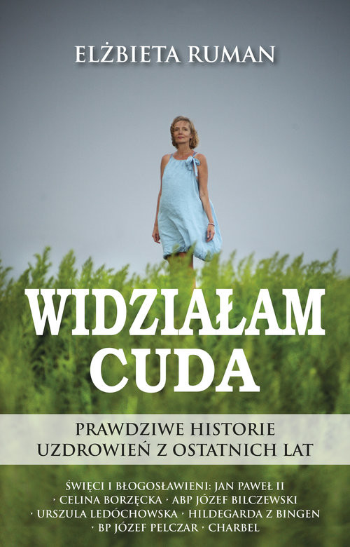 okładka Widzialam Cudaksiążka |  | Ruman Elżbieta