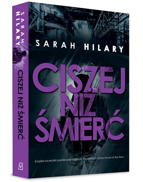 okładka Ciszej niż śmierć, Książka   Hilary Sarah