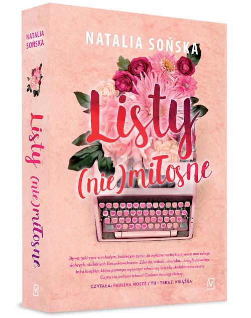 okładka Listy (nie)miłosne, Książka | Natalia Sońska