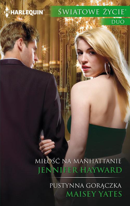 okładka Miłość na Manhattanie, Książka | Jennifer Hayward