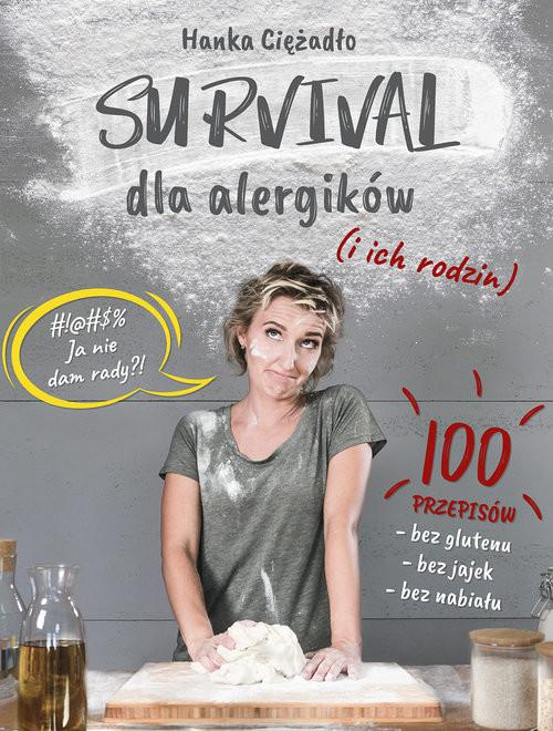 okładka Survival dla alergików i ich rodzin, Książka | Ciężadło Hanka