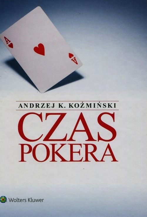 okładka Czas pokera, Książka | Andrzej K. Koźmiński