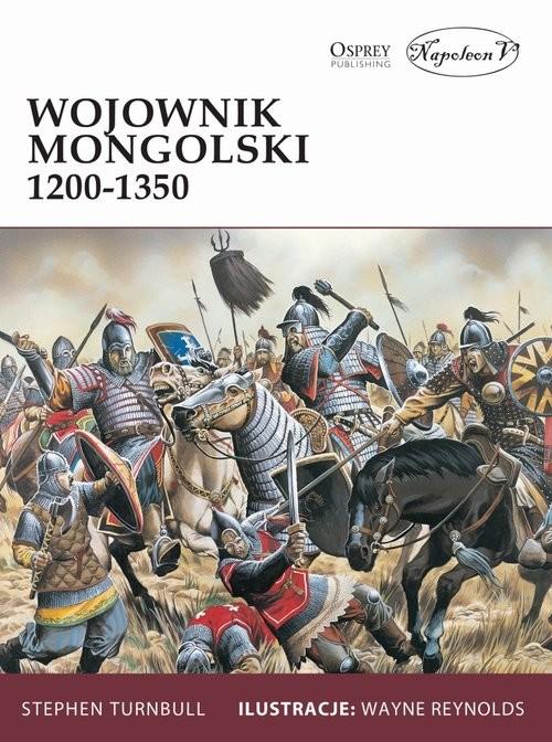 okładka Wojownik mongolski 1200-1350, Książka | Turnbull Stephen