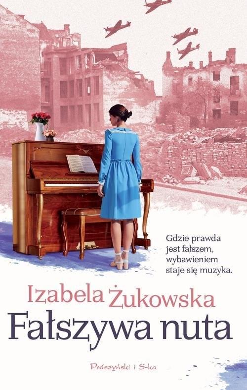 okładka Fałszywa nuta, Książka   Żukowska Izabela