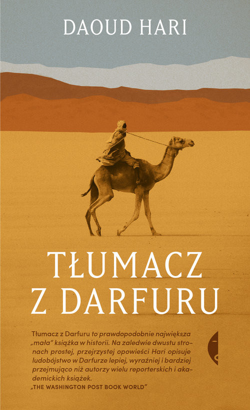 okładka Tłumacz z Darfuru, Książka | Daoud Hari
