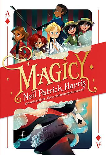 okładka Magicy, Książka | Patrick Harris Neil