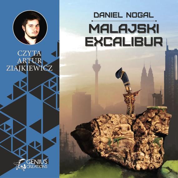 okładka Malajski Excalibur, Audiobook | Daniel Nogal