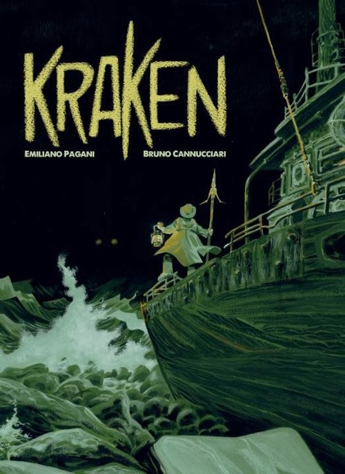okładka Kraken, Książka | E. Pagani, B. Cannucciari