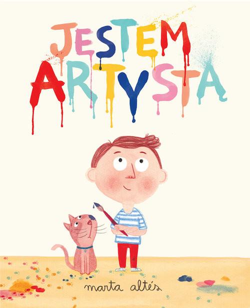 okładka Jestem artystą, Książka | Altes Marta