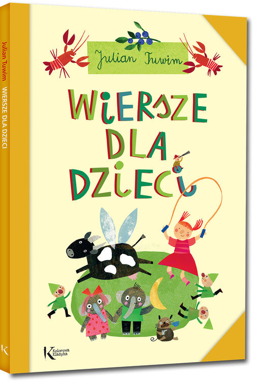okładka Wiersze dla dzieci, Książka | Tuwim Julian