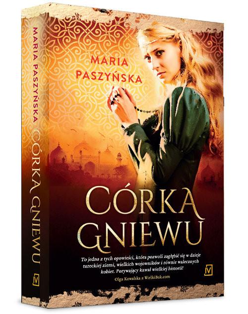 okładka Córka gniewu, Książka | Paszyńska Maria