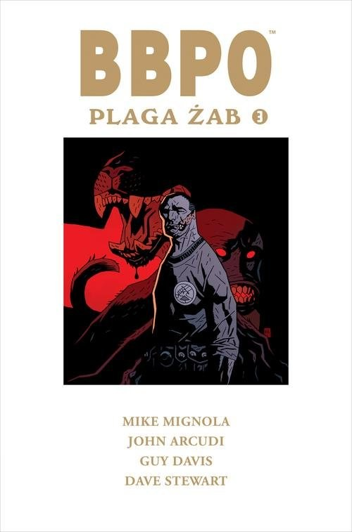 okładka BBPO Plaga żab Tom 3, Książka | Mike Mignola, John Arcudi
