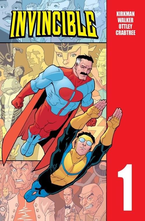 okładka Invincible Tom 1książka |  | Robert Kirkman