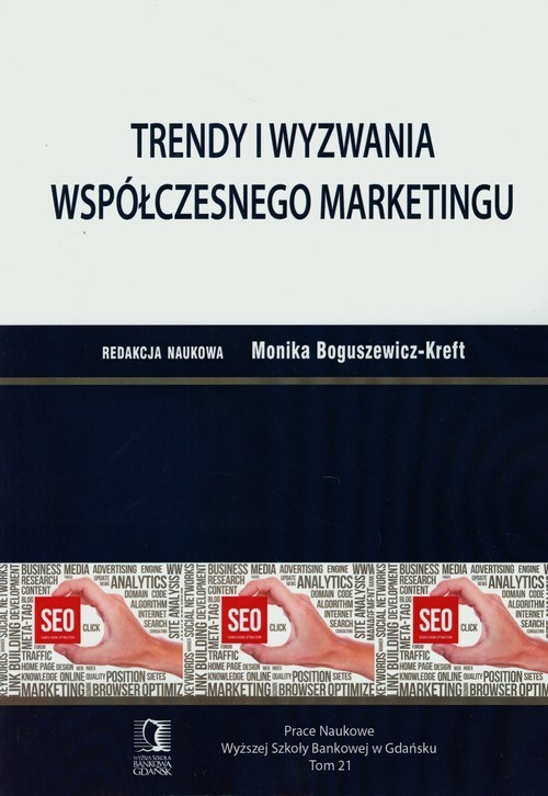okładka Trendy i wyzwania wspólczesnego marketingu, Książka |