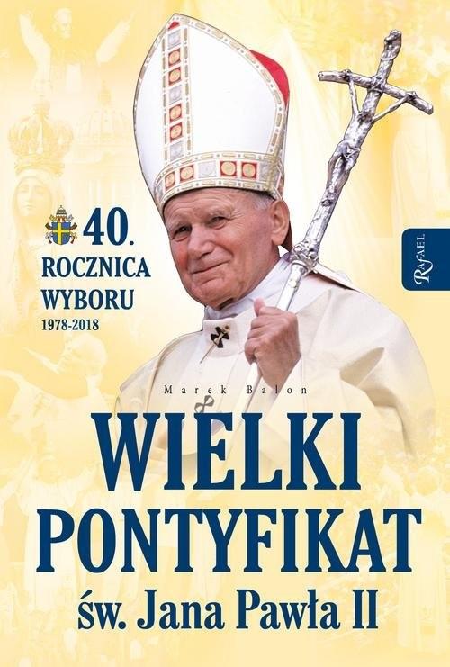 okładka Wielki pontyfikat, Książka | Balon Marek