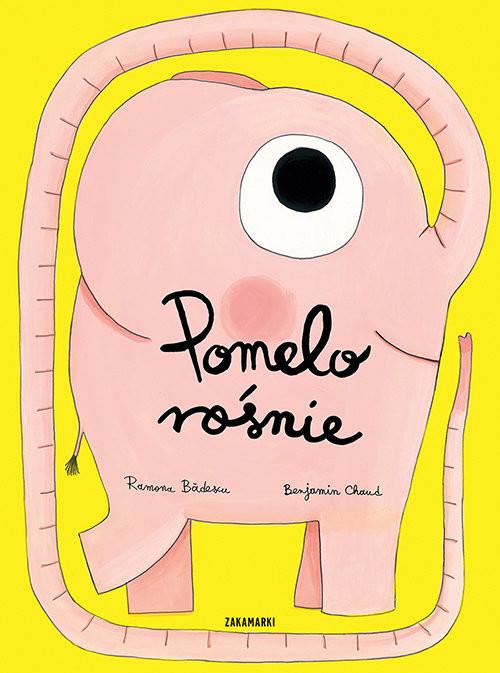 okładka Pomelo rośnie, Książka | Badescu Ramona