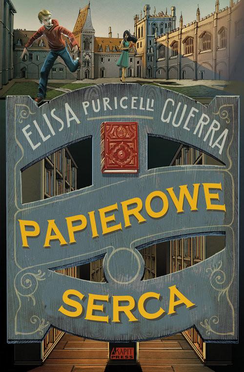 okładka Papierowe serca, Książka | Elisa Puricelli Guerra