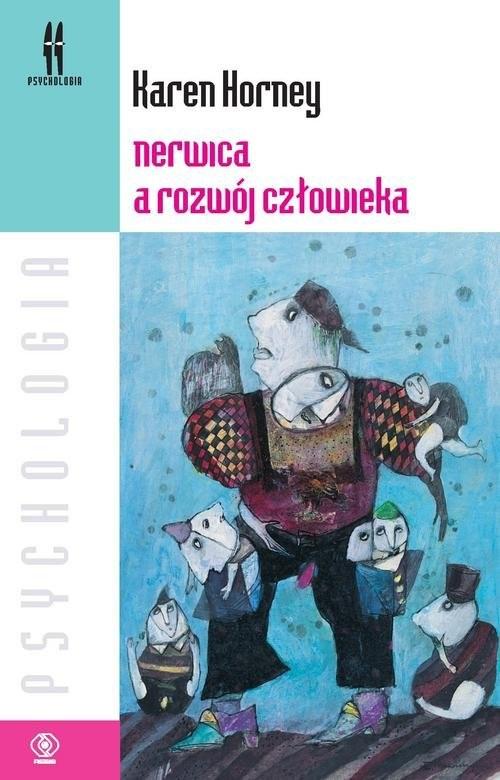 okładka Nerwica a rozwój człowieka, Książka   Horney Karen