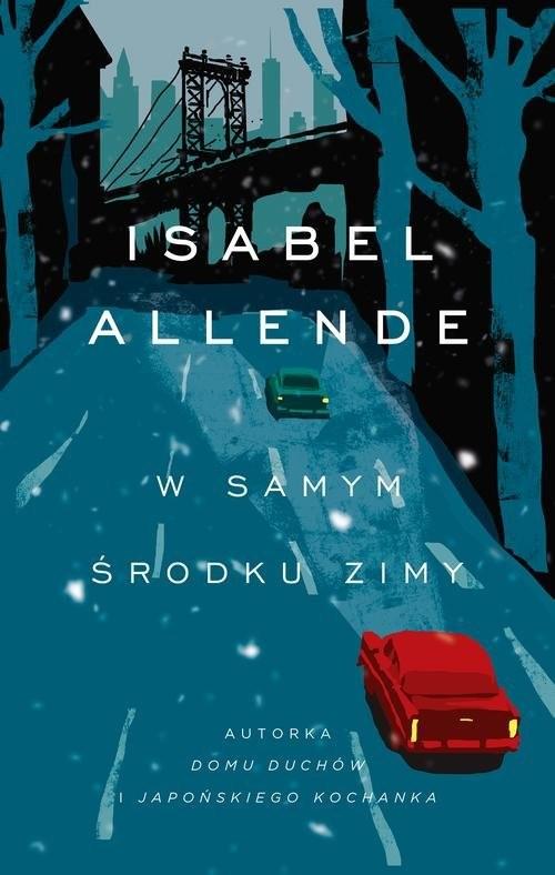 okładka W samym środku zimy, Książka | Isabel Allende