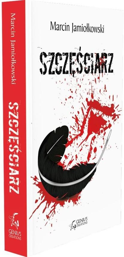 okładka Szczęściarz, Książka | Marcin Jamiołkowski