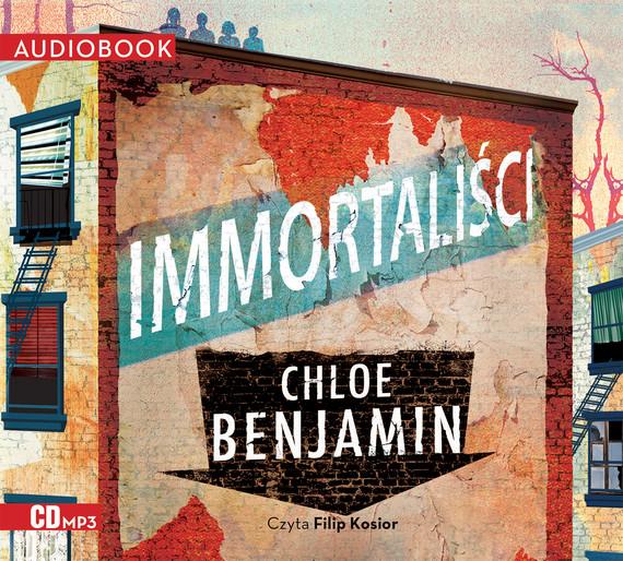 okładka Immortaliści. Audiobook | MP3 | Chloe Benjamin