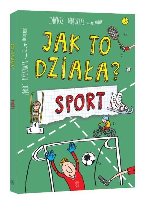 okładka Jak to działa? Sport, Książka | Jabłoński Janusz