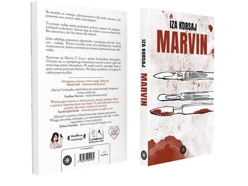 okładka Marvin, Książka | Korsaj Iza